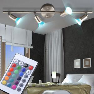 Attraktiv Das Bild Wird Geladen LED Decken Leuchte Flur Beleuchtung  Dimmbar RGB Fernbedienung