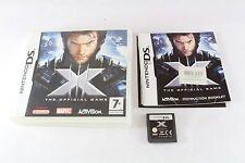 Nintendo DS X-MEN III 3 il gioco ufficiale PAL Testato