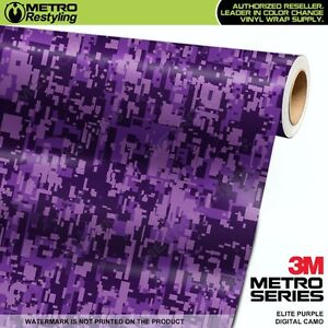 9fe42fd423 DIGITAL ELITE PURPLE Camouflage Vinyl Car Wrap Camo Film Sheet Roll ...