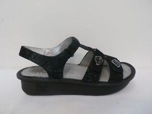 ac2647f3a95a0b Alegria Leather Multi-Strap Sandals w  Backstrap - Kleo BLACK LEAF ...