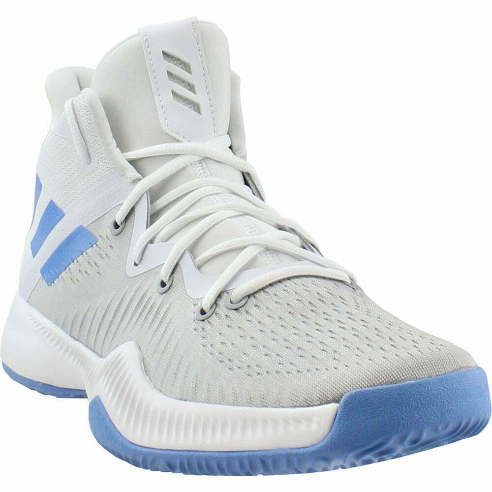 adidas SM Mad Bounce NBANCAA WH Athletic Basketball Shoes White Mens Size