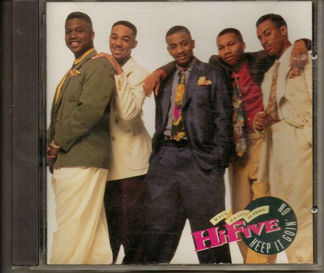 Keep It Goin On by Hi-Five (CD) W or W/O CASE EXPEDITED WITH CASE