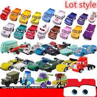 Disney Pixar Diecast Cars 1-2 Métal Miniature Jouet Voiture Pour enfant Toys Lot