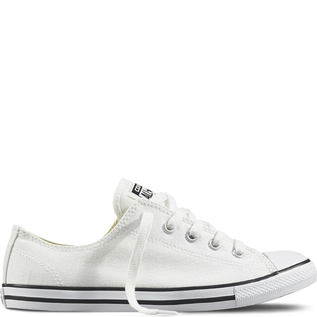 082a88fd17c48a New Womens Converse All Star Chuck Taylor Dainty White Canvas Ox UK Size 3.5