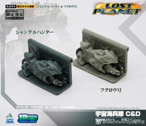 Mech Fans Toys  DA-08C//DA-09D  Lost Planet Power Armor,In stock!