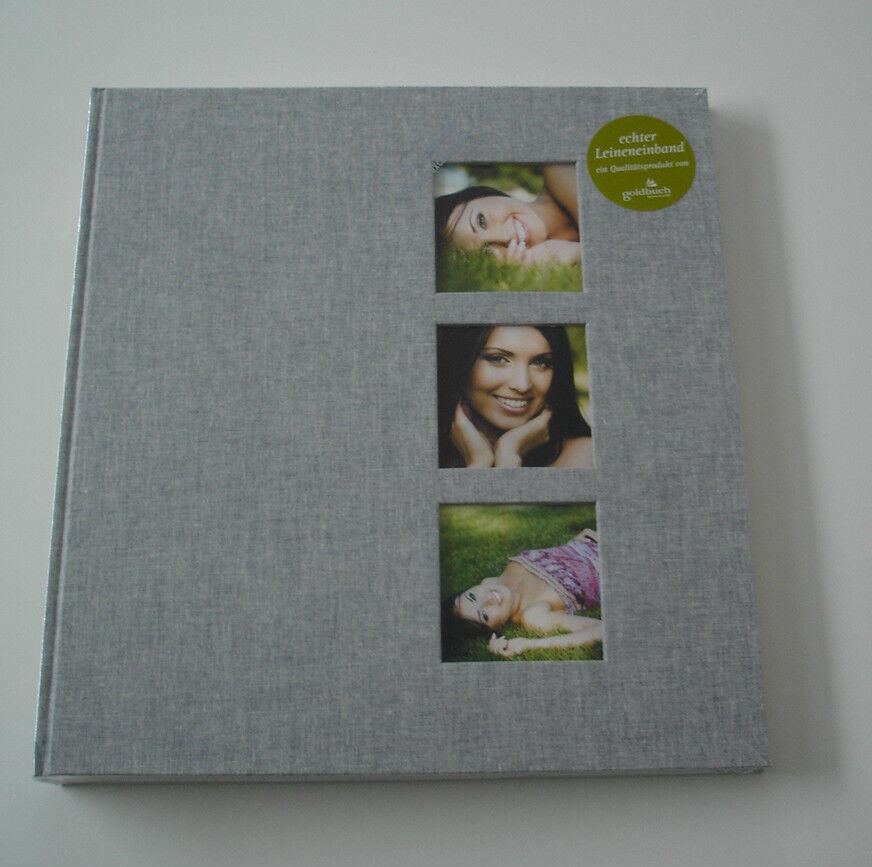 Fotoalbum Fotobuch in  Leinen 60 Seiten 30x31 in Buchbindung Style Grau Neu | Elegant  | Zuverlässige Leistung  | 2019