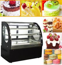 220v Showcase Bakery 3 Layers Cake Countertop Showcase Automatic Refrigeration