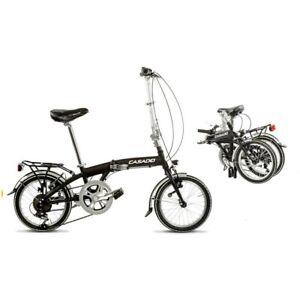Bici Pieghevole In Alluminio.Dettagli Su Bicicletta Cicli Casadei Bici Pieghevole Folding 16 Alluminio 6v
