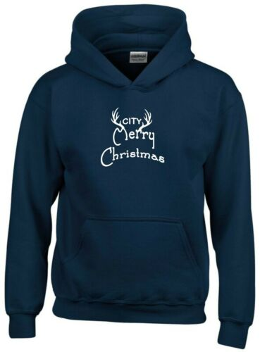 Merry Christmas Manchester City Fan Hoodie Mens