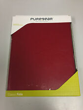 New PureGear iPad 2 3 4 Classic Folio Case RED Kickstand 2nd 3rd 4th Gen