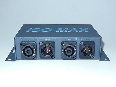 Jensen Transformers SP-2SX Stereo Speaker to Line Audio Converter//Isolator
