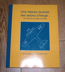 Une histoire illustrée des avions d'Hergé : De Tintin à Jo, Zette et Jocko