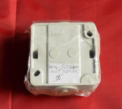K9 Jung 6061 Wippkontrollschalter  IP44 mit Kontrollampe