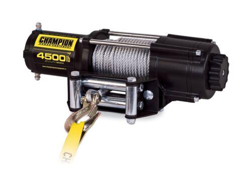 Champion Power Equipment Winch Kit ATV UTV Wireless Lightweight Compact 4500 Lb