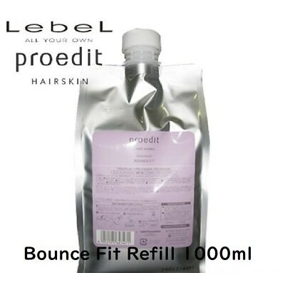 LebeL Hair Treatment Proedit Care Works BOUNCE FIT Refill 1000ml with track F/S