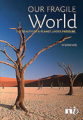 """AS NEW"" Our Fragile World: The Beauty of a Planet Under Pressure (Postcards), ,"