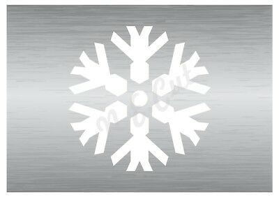 Christmas Snow Flake Stencil 4 A5 To A0 14cm To 1.2 Meters Or Bigger Cmas038