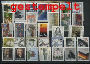 Germany-Federal-Frg-vintage-yearset-1985-Postmarked-Used-complete