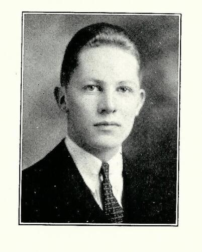 ADOLPH COORS 1933 Phillips Exeter Academy Yearbook