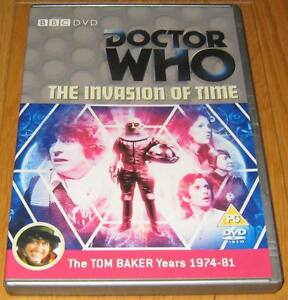 Doctor-Who-DVD-The-Invasion-of-Time-Excellent-Condition