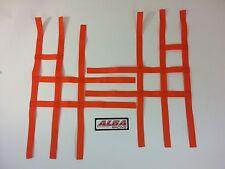 Kawasaki KFX 400 KFX400   Nerf Bar Nets Pro Peg   Fits Alba Tusk Orange J