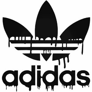 Details about Adidas Corporate Logo Brand Three Stripes Funny Vinyl Decal Laptop Car Sticker
