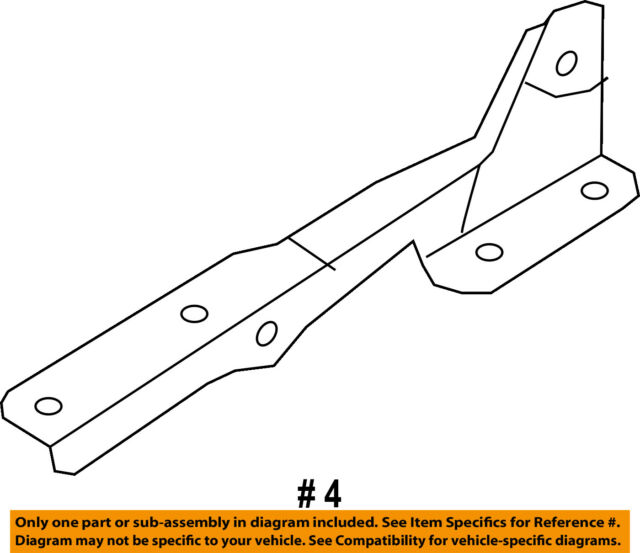 FORD OEM 09-14 F-150 Hood-Hinge Right CL3Z16796A
