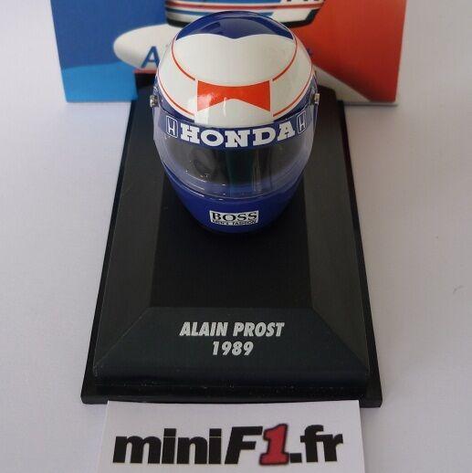 F1 CASQUE HELMET 1 8 PROST 1989 MINICHAMPS