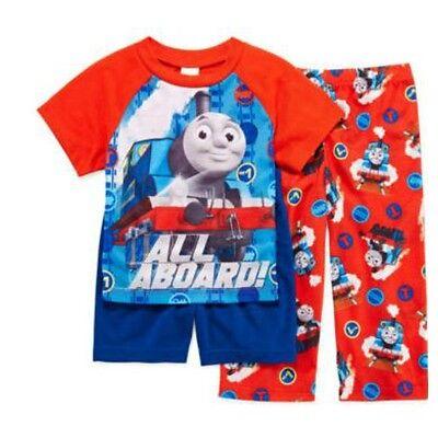 Boys Toddlers Thomas /& Friends 2 Cotton Sleepwear Sets Pajama 12M 18M 24M 3T 4T