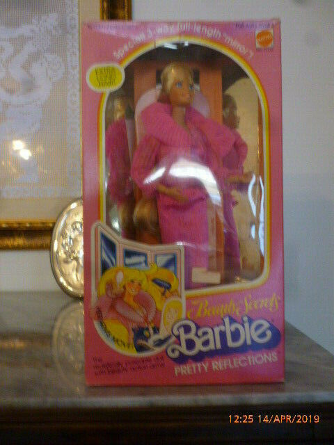 1979 Beauty Secrets Pretty Reflections Barbie Segreti di Bellezza superstar