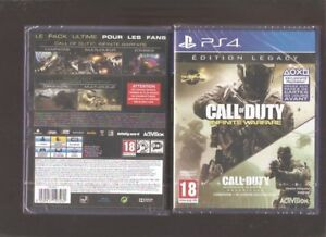 CALL-OF-DUTY-INFINITE-WARFARE-Edition-Legacy-Culte-sur-PS-4-Jeu-NEUF-Blister
