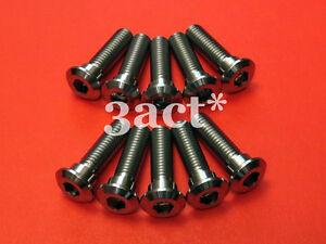 M8 x 30mm 1.25 Pitch Titanium  Ti Disc Brake Rotor Torx Bolts