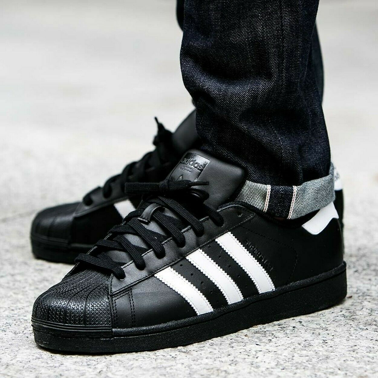 BNWB & Genuine adidas originals ® Superstar Foundation Retro Trainers UK Größe 11