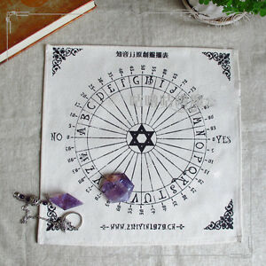 New-White-Table-Pendulum-Magic-RunesTarot-Wiccan-Pagan-Altar-Collection-Cosplay
