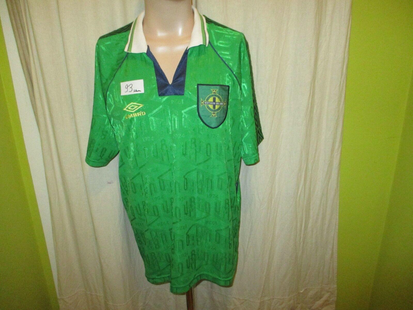 Nordirland  IFA  Original umbro EM Qualifikation Trikot 1994-1996 Gr.XL TOP