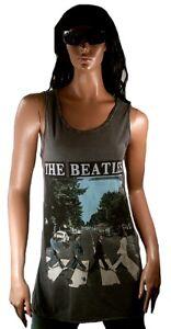 The Tunk Vintage Designer Canotta Amplificata Camicia Xl Beatles London Road Abbey Hxq0O