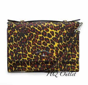 Vivienne-Westwood-Leopard-Print-iPhone-Wallet-Clutch-Bag-Shoulder-Strap