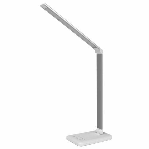 Schreibtischlampe LED 6W Büro Tischleuchte 5 Farb und 10 Helligkeitsstufen DE