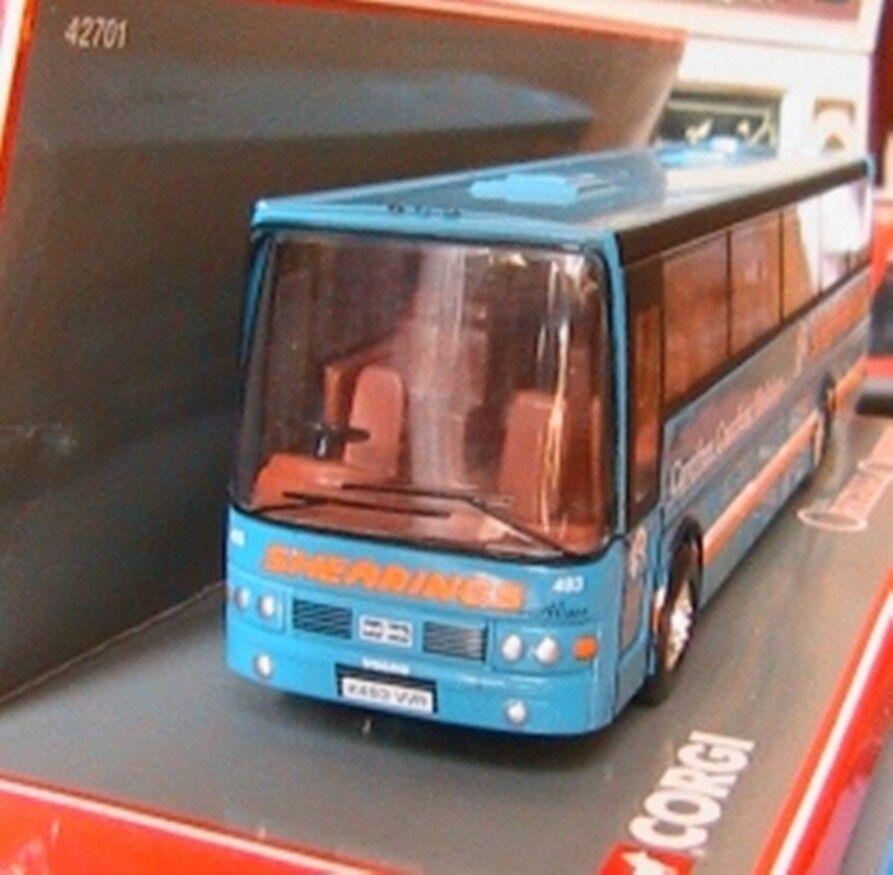 BUS CAR VANHOOL ALIZEE SHEARINGS CORGI 42701 1 76 UK