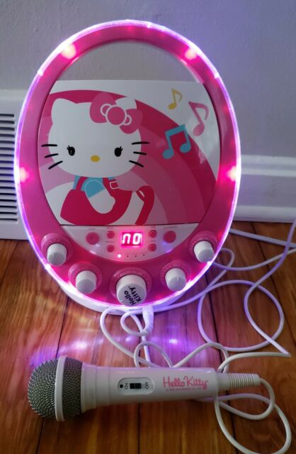 HELLO KITTY Flashing Lights CD+G KARAOKE MACHINE SING-A ...