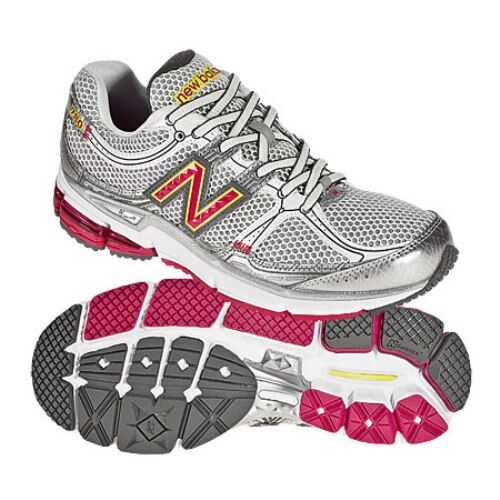 Women's New Balance W780 780 Running Work Out shoes US 12 Medium White Pink