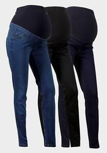 Maternity-New-Look-Jeans-Sopra-Bump-Jeggings-Taglie-8-20