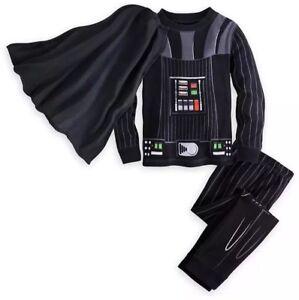b894f9bdb7003 Darth Vader Costume Pajamas Sz 0-3 Months Disney Star Wars New Free ...