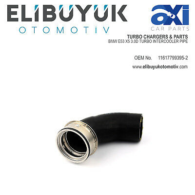 BRAND NEW BMW E53 X5 3.0d INTERCOOLER PIPE TURBO HOSE 11617799395-2 11617790094