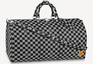 Louis Vuitton Keepall 50 Distorted Damier Virgil Abloh LV Authentic Brand New