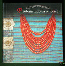 BOOK Polish Folk Jewelry ethnic costume antique coral necklace amber Poland ring