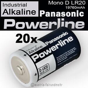 20x-Mono-D-LR20-MN1300-Batterie-PANASONIC-POWERLINE-INDUSTRIAL