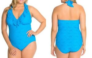 292541494e9021 Image is loading Kenneth-Cole-Reaction-Swimsuit-Island-Fever-Womens-Plus-