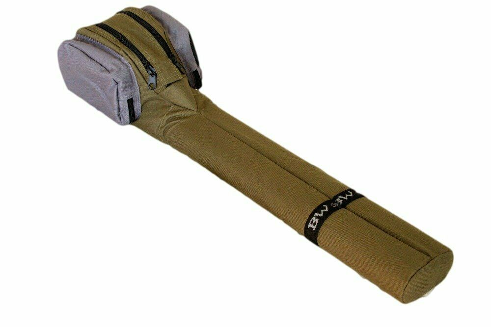 Dual Fly Rod & Reel 33 inchs Case 10 feet 4 Pieces Fly Rods padded reel chambers