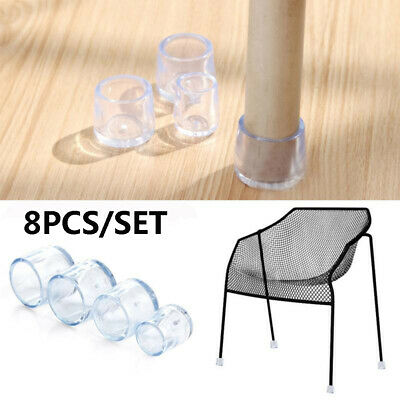 8pcs//set Chair Legs Silicone Cap Pad Furniture Table Feet Cover Floor Protector